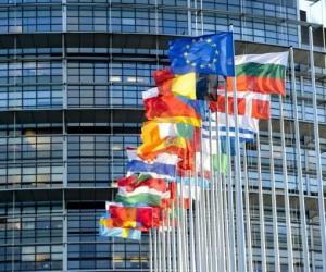 Ευρωπαϊκή Ένωση, σημαίες, Ευρωβουλή, Στρασβούργο
