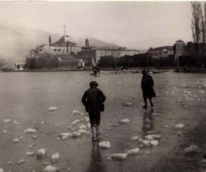 Ιωάννινα, παγωμένη λίμνη