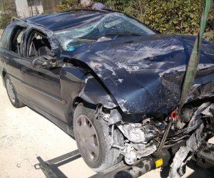 Τροχαίο ατύχημα, δυστύχημα, τρακαρισμένο, αυτοκίνητο, φωτο αρχείου